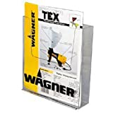 8.5x11 Clear Acrylic Wall Mount Brochure Holder for Full Page Marketing Holder Literature Item BH4590-16
