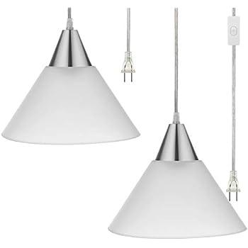 Ikea Foto Pendant Lamp Plug In Aluminum D 15