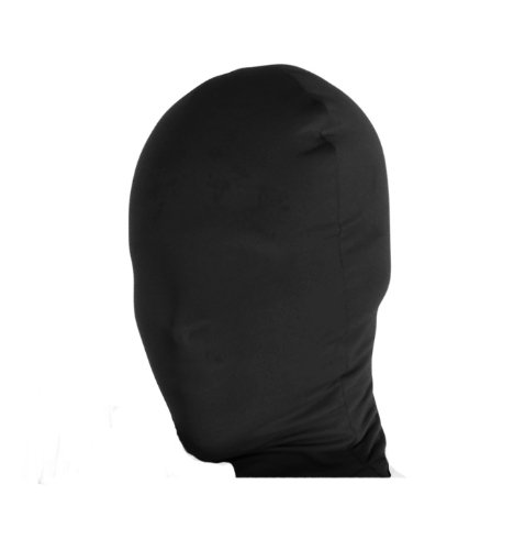 Rubie's Men's Black 2nd Skin Mask, Adult ()