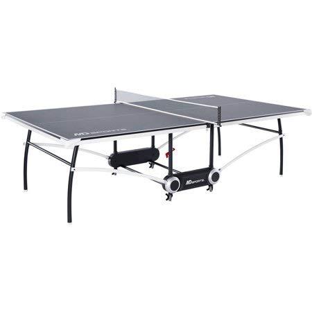 MD Sports' 公式サイズ折りたたみ式卓球台 9 x 5フィートテーブル 2ピース構造 B07GXNR37Q