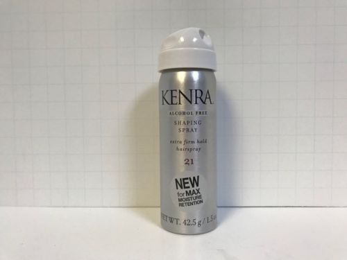 Kenra Shaping Spray Extra Firm Hold Hairspray No.21, 1.5 Oun