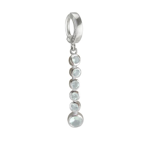 BODY JEWELRY THAT WILL CHANGE YOUR LIFE. TUMMYTOYS SILVER BELLY JOURNEY BLUE CZ. Each TummyToys belly button navel ring is easy to use and beautiful to wear. This dangle navel - Policy Journeys Return