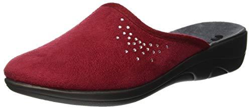 Retro Inblu 05 Donna bordeaux Jula Aperte Rosso 016 Pantofole Sul STnRO4v