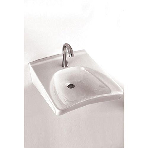 Sedona Wall Mount Lavatory - Toto LT308A-12 Commercial Wall-Mount Wheelchair User's Lavatory with Soap Dispenser, Sedona Beige