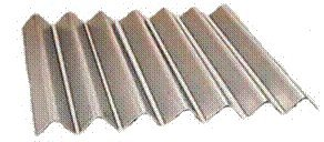 Weber BBQ Grill Flavorizer  Bars Stainless Steel 7pcs-15 7/8'' long by Chim Cap Corp.