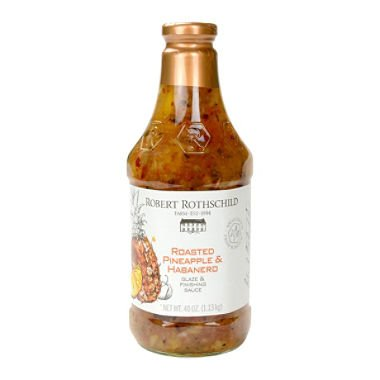 Robert Rothschild Farm Roasted Pineapple & Habanero Glaze & Finish Sauce 2 Pack ()