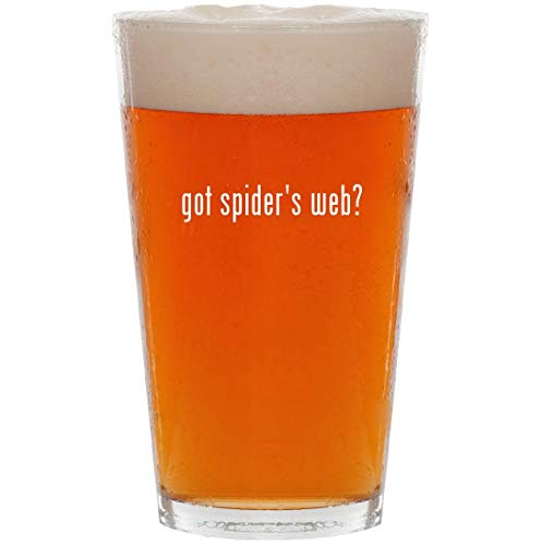 got spider's web? - 16oz Pint Beer Glass]()