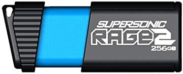 Patriot 128GB Supersonic Rage 2 Series USB 3.0 Flash Drive with Transfer...