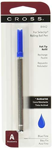 Cross Selectip Porous-Point Refills Fine Blue