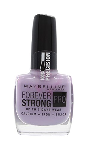 Maybelline Forever Strong Iron - Maybelline Forever Strong Nail Polish 0.3oz (10ml) Lilac Charm