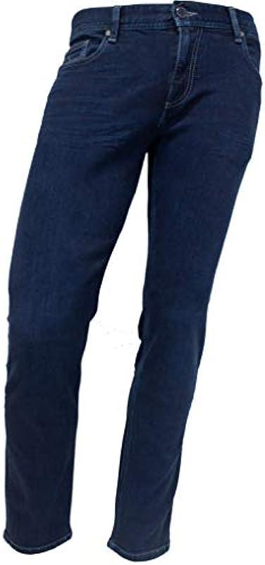 Alberto dżinsy męskie Pipe PBJ DS Soft Denim od 30 do 36 cm długości: Odzież