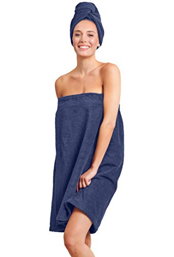 Soft Touch Linen Towel Wrap for Women - Women