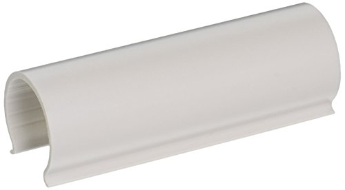 EZ White Snap Clamp 1-1/4 Inch X 4 Inches Wide for 1-1/4 Inch PVC Pipe 10 Per ()