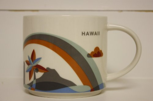 Starbucks Hawaii - You Are Here Collection Coffee Mug with R