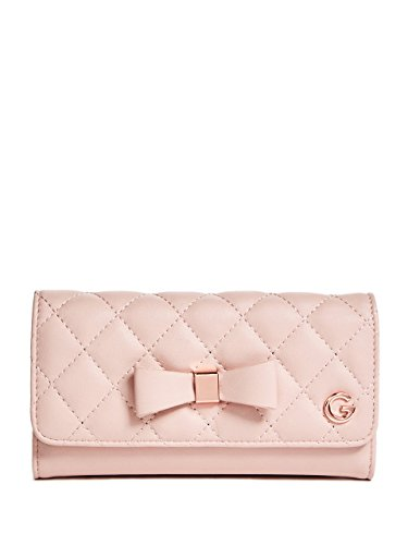 Guess Handbags Wallets - G by GUESS Women's Amanda Quilted Slim Wallet