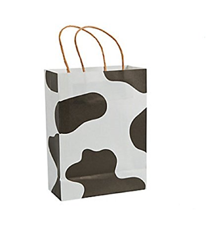 FE Small Kraft Cow Gift Bags