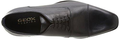 Geox U New Life C, Chaussures de ville homme - Noir (Black), 45 EU