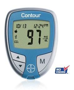 Bayer Контур глюкозы в крови счетчик