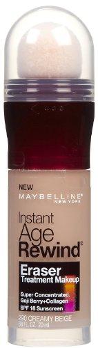Maybelline Instant Age Rewind Eraser Treatment Makeup, Creamy Beige [290] 0.68 oz