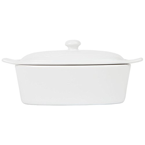 Old Home Kitchen Butter Keeper, Porcelain Butter Boat, White by Old Home Kitchen (Image #2)