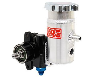 KRC Power Steering KRC 50000100 Cast Iron Pump with Bolt-On Tank (w/o Pulley) by KRC Power Steering