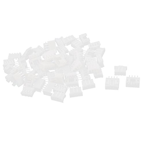 Uxcell a14120300ux0372 30 Sets 2.0 mm Pitch PH 4P Connector Female Pin Header + Housing (Connector Female Housing Pin 4)
