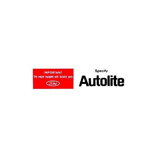 MACs Auto Parts 60-47198 Air Cleaner Decal - Autolite Replacement Parts -