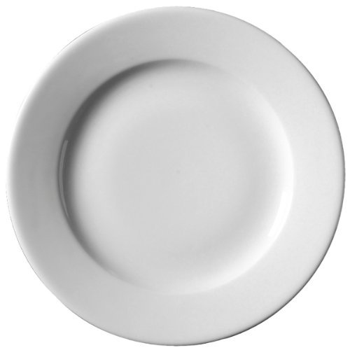 Amazon.com Royal Genware Classic Plates 21cm - | 8.25inch Dinner Plates Porcelian Plates White Plates | Commercial Quality Tableware for Domestic and ...  sc 1 st  Amazon.com & Amazon.com: Royal Genware Classic Plates 21cm - | 8.25inch Dinner ...