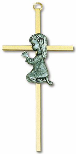 Girl Wall Cross (Cross Wall Praying Girl)