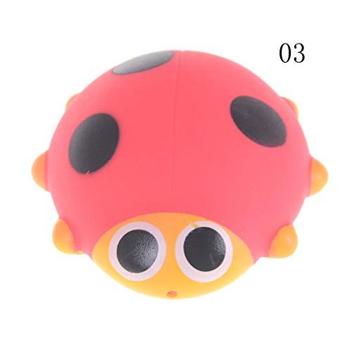 1pc Cute Baby Bath Toys Soft Rubber Duck Animals Car Boat Ki