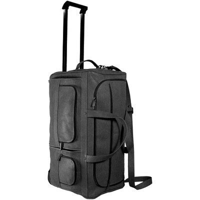 David King & Co. 22 Inch Rolling Duffel, Black, One Size by David King & Co
