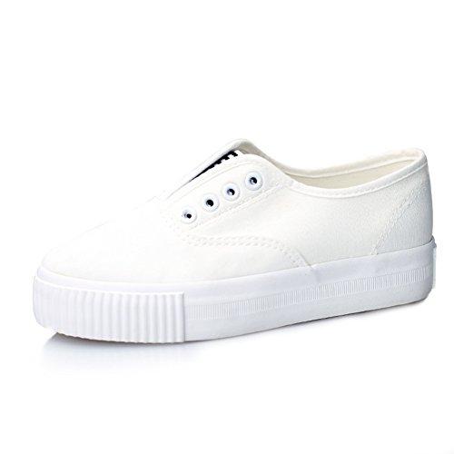 Verano y otoño un pedal de poner un pie zapatos perezosos/zapatos de lona ocasionales simple y con estilo Fan Art A