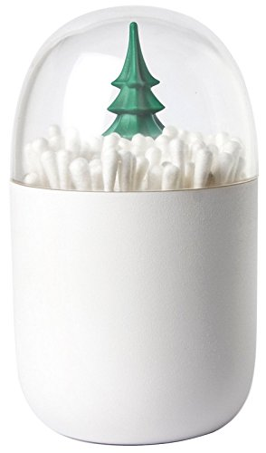 If you're one to go a little crazy with Christmas decor, you'll love this cotton bud dispenser with