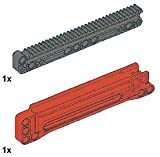 (US) LEGO Technic 32-Tooth Long Gear Rack with Housing
