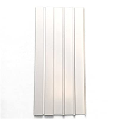 "Mobile Home Skirting Box of 8 White Panels 16"" Wide By 35"" Tall from Mobile Home Solutions"