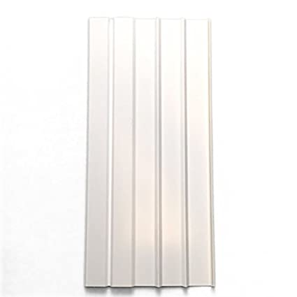 amazon com mobile home skirting box of 8 white panels 16 wide by
