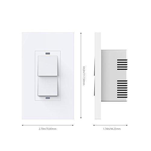 Koogeek Smart 2-Gang WiFi Light Switch by Koogeek (Image #6)