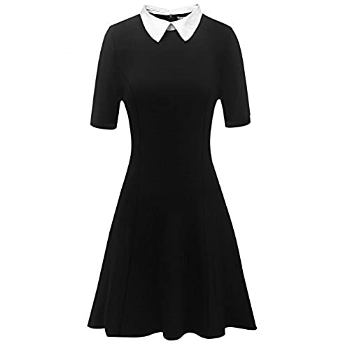 Large Fancy Cocktail Collared Dresses