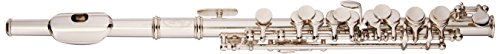 Nickel Plated C Piccolo Flute with Case