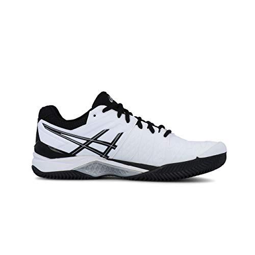 Tennis resolution Hommes Gel Asics Clay White 6 qfapvwwBx