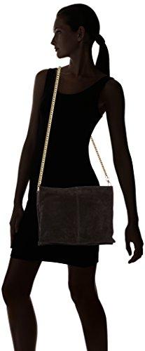 7x24x32 Cm Schwarz Body Suede Pclichi Cross Pieces l X Portés Femme P H Sacs black Épaule Fwv4yTq