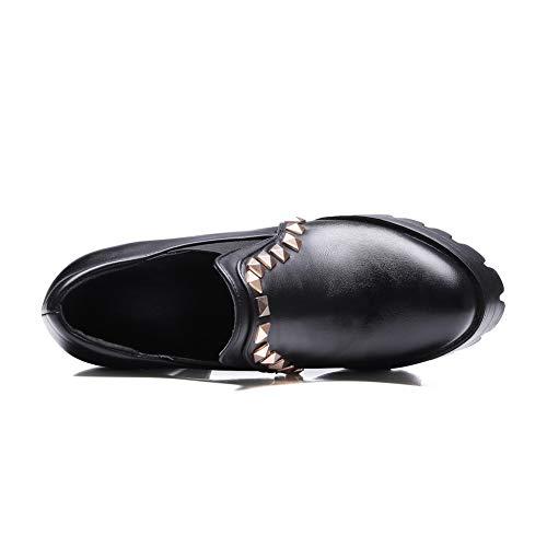 Femme Noir Noir BalaMasa APL10748 5 36 Plateforme xH8ppS