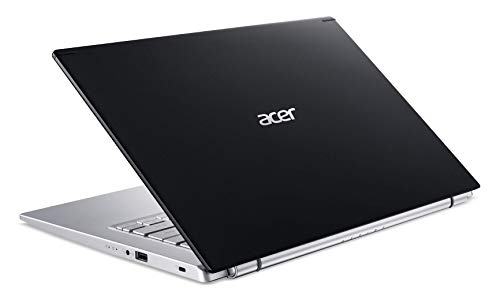 Acer laptop upper view