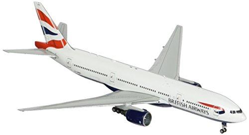 GeminiJets British Airways B777-200ER 1:400 Scale Model Airplane