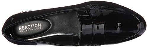 Kenneth Embellished Behind Flat Jet Reaction Mocasín Heel Black Slip Loafer Cole YRwxRd