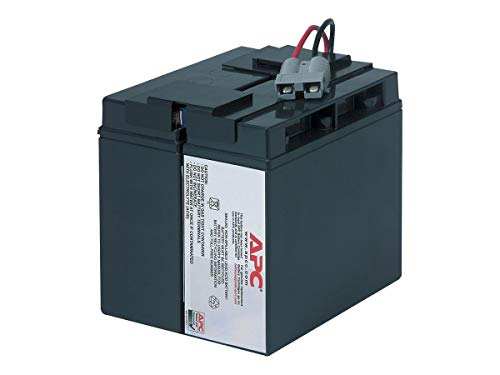 APC UPS Battery Replacement for APC Smart-UPS Model SMT1500, SMT1500C, SMT1500US, SUA1500, SUA1500US and Select Others (RBC7)