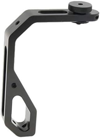 FLAMEER ハンドグリップ スタビライザ L型ブラケット 手持ちジンバルDJI Ronin Sなどに適合 1/4ネジ穴 取り