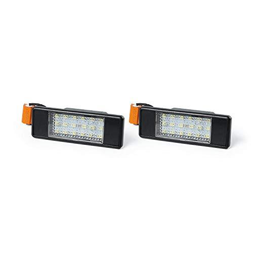 Paire de feux de plaque dimmatriculation LED pour Mercedes Sprinter Vito Viano W906 W639