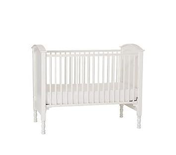 Amazon.com : Pottery Barn Kids Dana Fixed Gate Crib ...