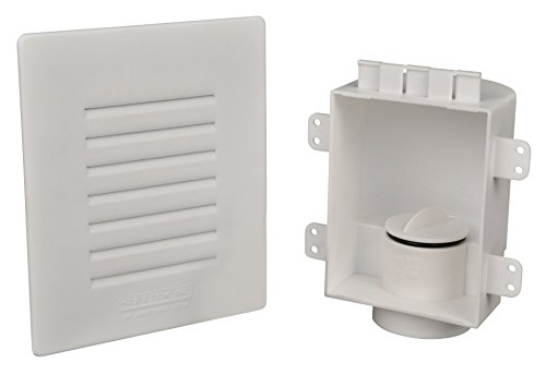 Studor 20380 Low-Profile Recess Box with Grille